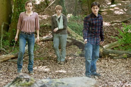 Bộ baHarry Potterphiên bản điện ảnh. (Ảnh: Daily Mail)