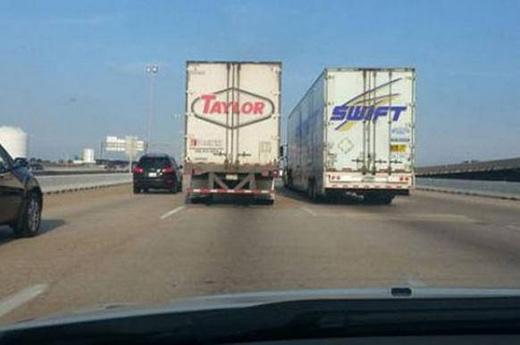 Chắc làý trời, về đặt tên con là Taylor Swift thôi!(Ảnh: Internet)
