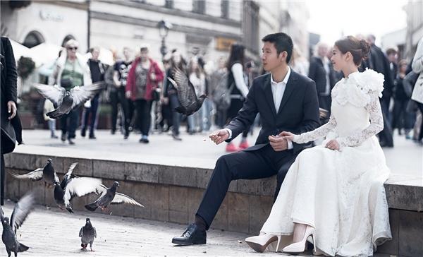 Á hậu Diễm Trang xinh đẹp như công chúa trong bộ ảnh cưới tại châu Âu - Tin sao Viet - Tin tuc sao Viet - Scandal sao Viet - Tin tuc cua Sao - Tin cua Sao