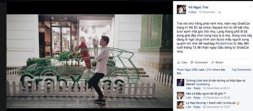 """… và MC Ngọc Trai. Vẫn phong cách độc lạ thường thấy, Ngọc Trai tạo dáng không đụng hàng khi """"pose"""" hình cùng chiếc xe """"tuần lộc"""" phiên bản 2015. - Tin sao Viet - Tin tuc sao Viet - Scandal sao Viet - Tin tuc cua Sao - Tin cua Sao"""