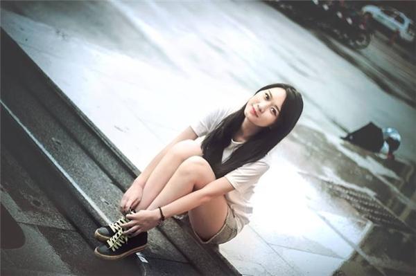 Ngọc Linh mơ ước trở thành một MC truyền hình và có thể kiếm tiền xây nhà cho bố mẹ.(Ảnh: NVCC)