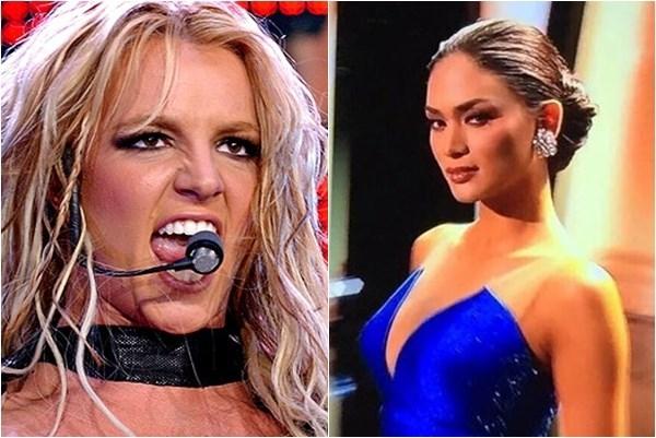 Pia Alonzo Wurtzbach đứng trước nguy cơ bị các fan của Britney 'tẩy chay' vì mỉa mai thần tượng.