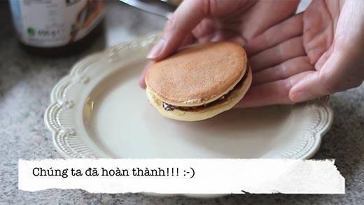 Bí kíp làm bánh rán Doraemon cực dễ