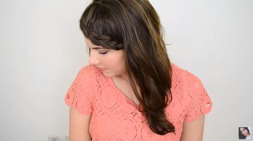 Bạn luôn có thể áp dụng kiểu này với tóc ngắn. (Ảnh: Youtube)