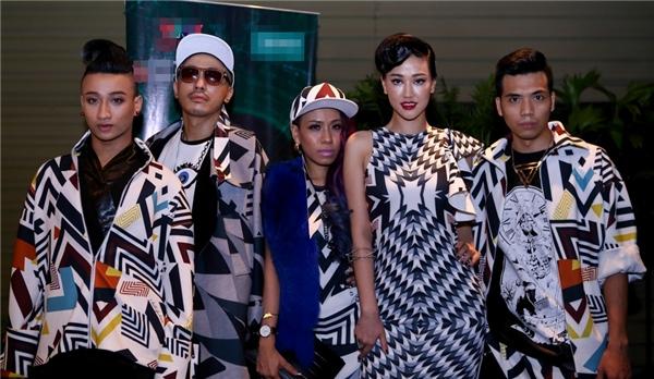 Hình ảnh của đội Maya trong buổi ra mắt chương trình The Remix mùa hai. - Tin sao Viet - Tin tuc sao Viet - Scandal sao Viet - Tin tuc cua Sao - Tin cua Sao