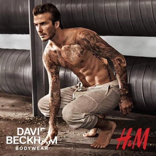 David Beckham kiếm bộn tiền từ các hợp đồng quảng cáo.
