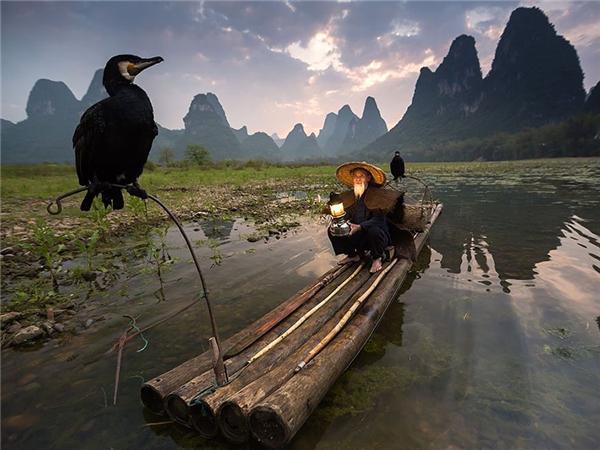 Đôi bạn thân thiết! (Ảnh chụp tại Trung Quốc).