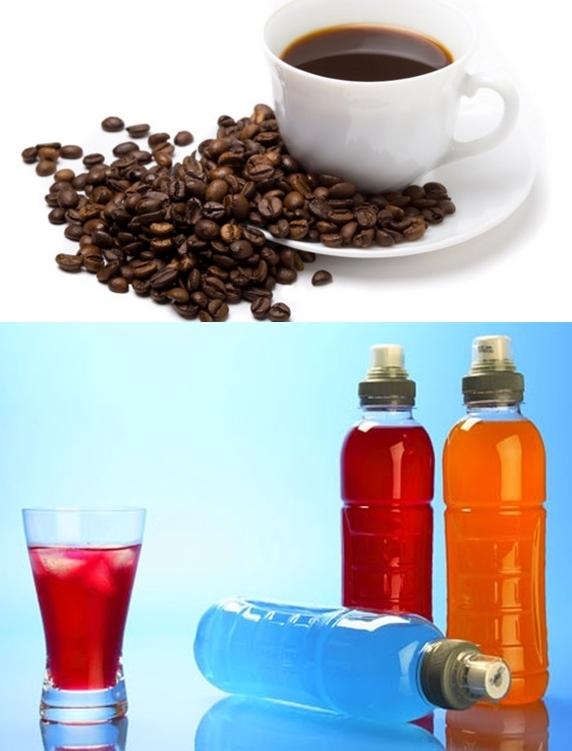 Nước tăng lực thậm chí chứa nhiều caffeine hơn cà phê nguyên chất. (Ảnh: Internet)
