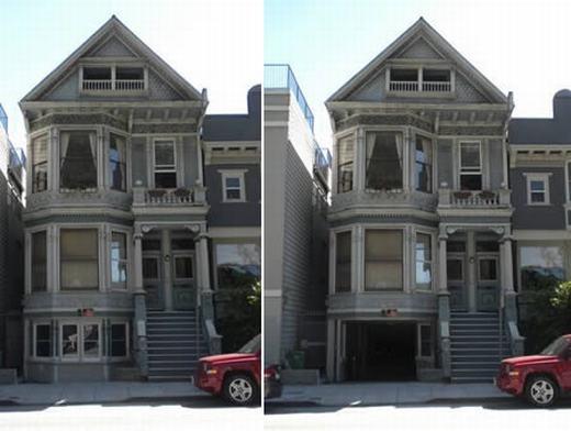 Căn nhà với gara ô tô tương tự như một gian phòng, vừa mang tính thẩm mĩ lại có thể tiết kiệm chi phí giữ xe. Được biết, công ty xây dựng McMills Construction chính là tác giả của công trình này. (Ảnh: Oddee)