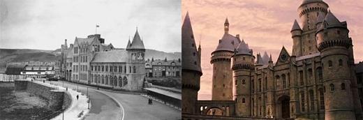 """Đại học Aberystwyth được gọilà """"Hogwarts của xứ Wales"""" vì những nét tương đồng với Hogwarts. (Ảnh: buzzfeed)"""