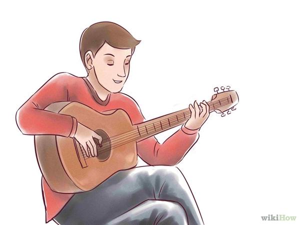"""Đừng sợ """"khác người"""": Bạn nổi bật hơn người khác chỉ bởi bạn có thể chơi một loại nhạc cụ còn họ thì không? Bạn nên nhớ rằng những bạn xấu sẽ ghen tị, còn bạn tốt sẽ ngưỡng mộ và mong bạn chơi giỏi hơn nữa đấy! (Ảnh: WikiHow)"""