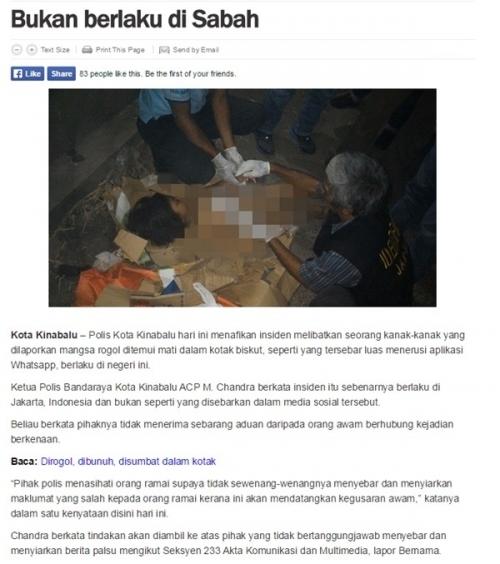 Đây là sự việc xảy ra tại Indonesia.