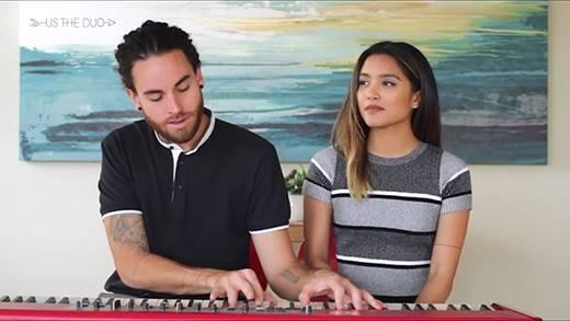 Thưởng thức clip mashup của cặp đôi cover