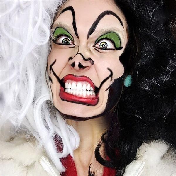Cruella De Vil trong 101 chú chó đốm. (Ảnh: Internet)
