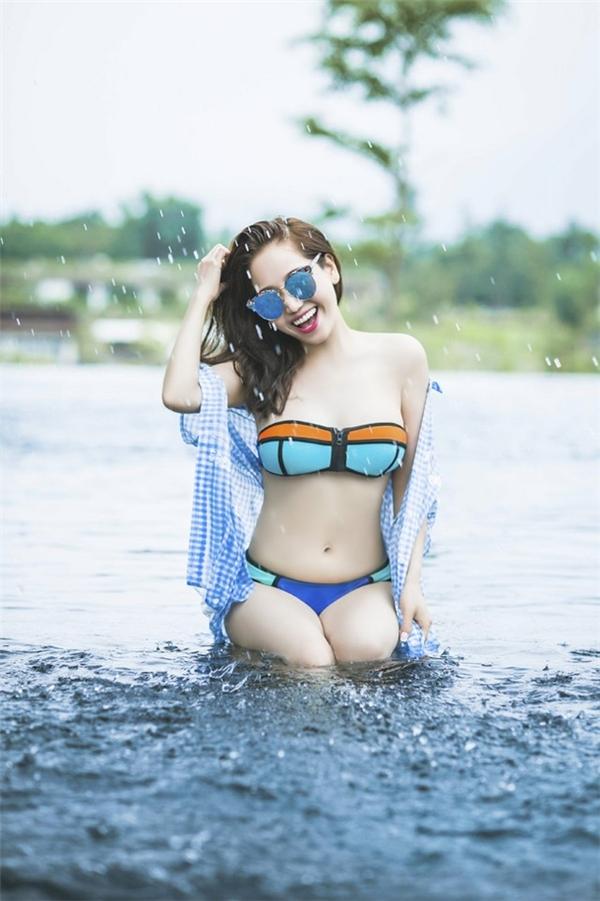 Chị Khánh có vóc dáng mơ ước đôi với bất kì thiếu nữ nào. (Ảnh: Internet)