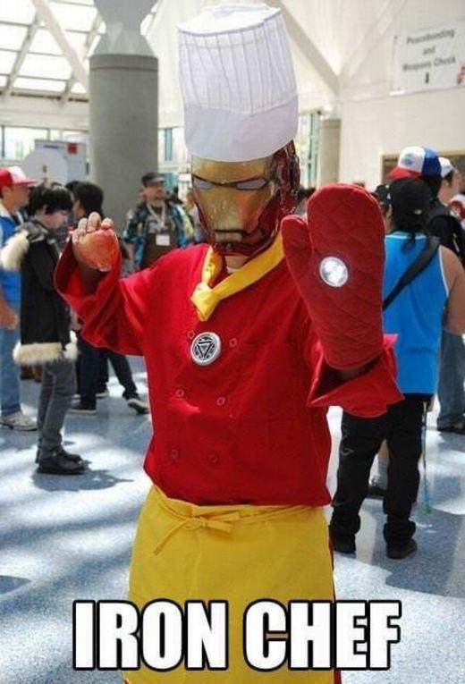 Bạn biết cuộc thi Iron Chef có nguồn gốc từ đâu rồi chứ? (Ảnh: Internet)