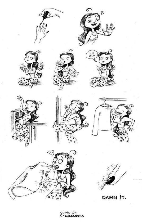 """Càng cẩn trọngcàng dễ """"dính chưởng"""".(Ảnh: Bored Panda)"""