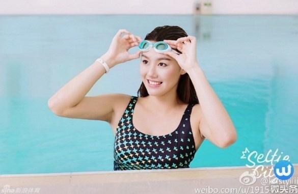 Liu Xiang là vận động viên bơi lội mới nổi trong làng bơi lội Trung Quốc thời gian vừa qua. Dù mới 18 tuổi nhưng cô gái này đã nổi tiếng là vận động viên xuất sắc ở thể loại 50m tự do trong các giải bơi lội của đất nước này.
