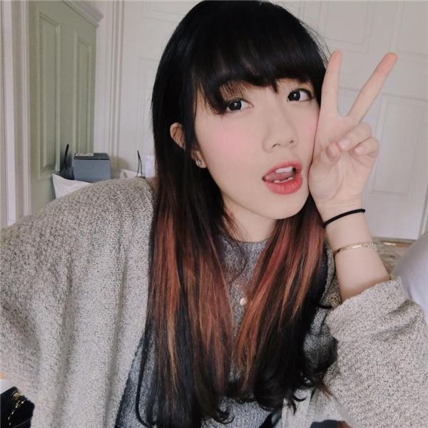 """Mie Nguyễn cũng là một trong những gương mặt hot teen Việt sở hữu vẻ đẹp răng thỏ đang """"thịnh hành"""".(Ảnh: Internet)"""