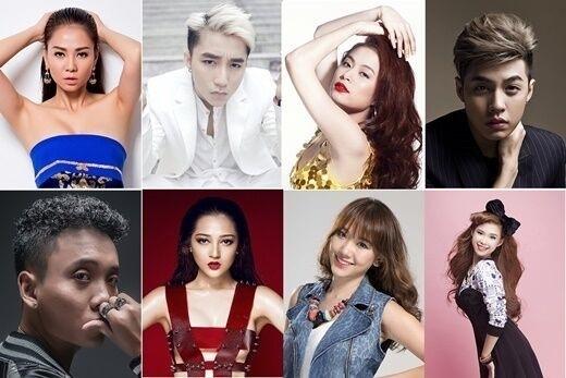 8 ca sĩ sẽ cùng bạn khuấy động đêm giao thừa 2016 này!