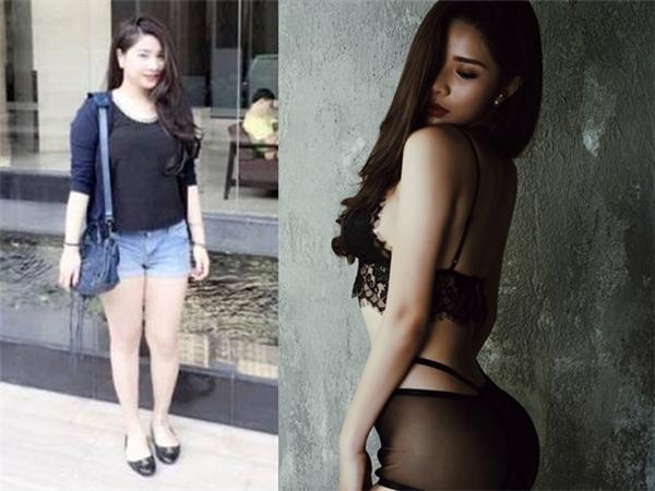 Cô nàng Nguyễn Hồng Nhung quyết tâm giảm cân vì bị bạn trai chê béo.