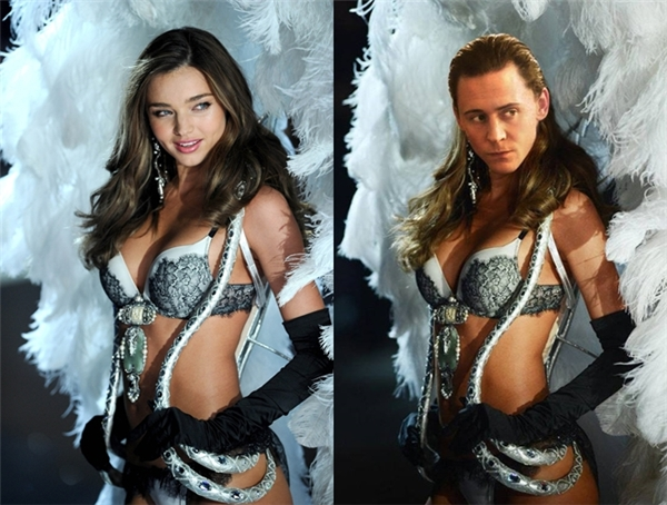 Gương mặt đầy nét gợi cảm của Loki (Tom Hiddleston) có khi khiến cảMiranda Kerr phải ganh tị. (Ảnh: Internet)