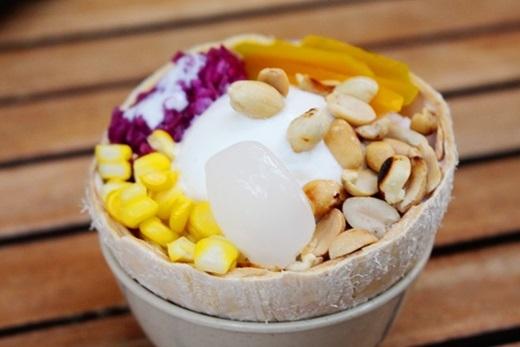 Kem xôi dừa được yêu thích từ Bắc đến Nam.(Ảnh: Internet)