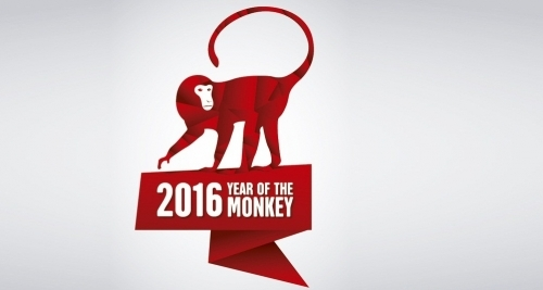 Chú khỉ linh hoạt sẽ biến 2016 thành một năm đầy những biến chuyển tích cực. (Ảnh: Internet)