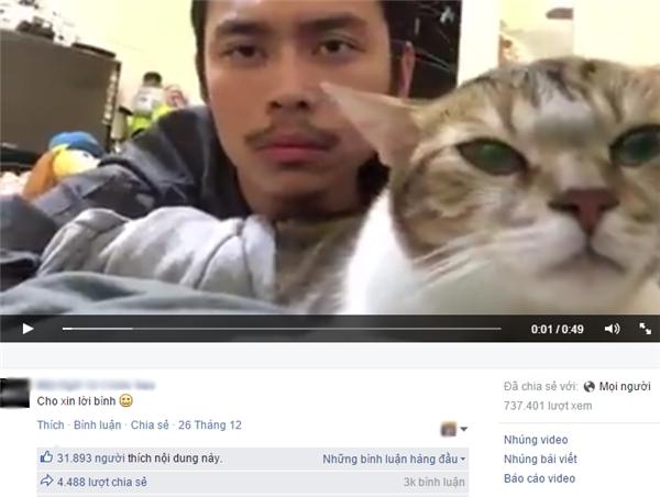 Hình ảnh từ đoạn clip.(Ảnh: chụp màn hình FBNV)