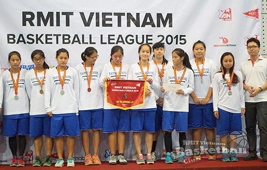 Chủ nhà đại thắng tại lễ bế mạc Giải bóng rổ truyền thống RMIT 2015