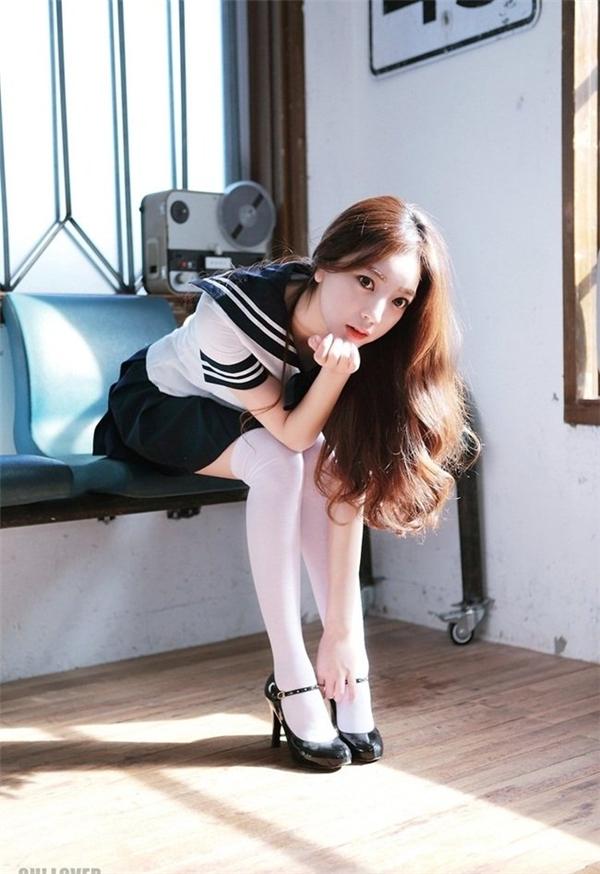Ji Huyn từng hẹn hò với hot boyPark Hyung Seokvàđược báo chí ca ngợi là một trong những cặp đôi đẹp nhất của làng giải trí Hàn. (Ảnh: Internet)