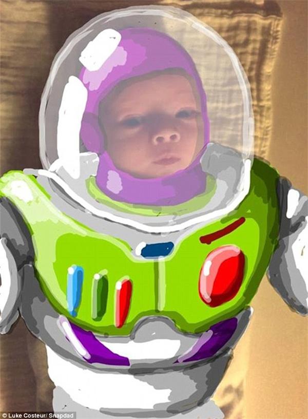 Một Buzz Lightyear hùng dũng của Toy Story. (Ảnh: Internet)
