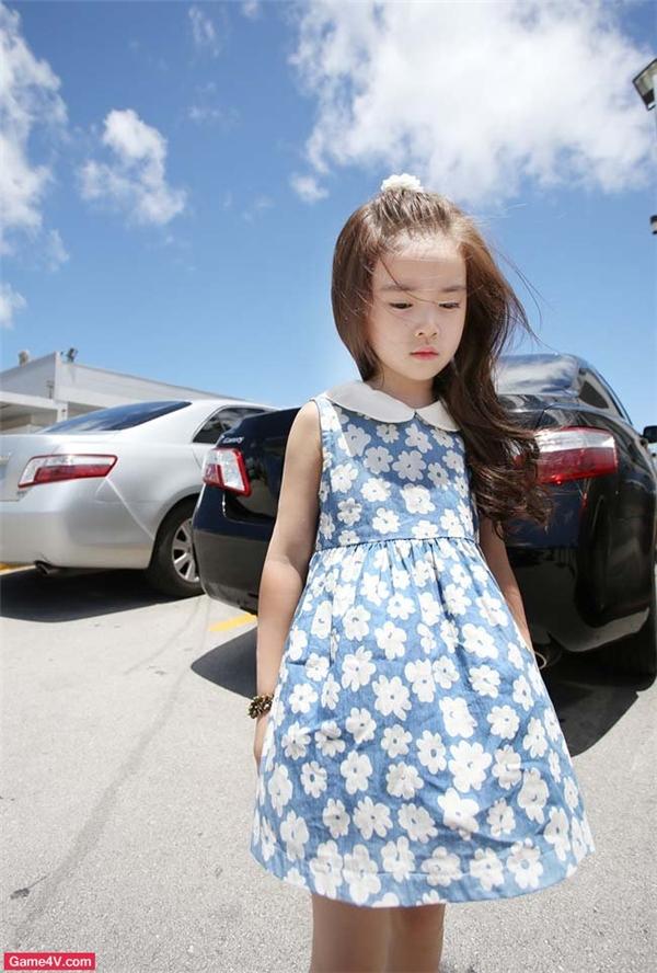 """Tuy chỉ mới 8 tuổi nhưng Wonhee sở hữu phong cách thời trang và khí chất """"không phải dạng vừa"""".(Ảnh: Internet)"""