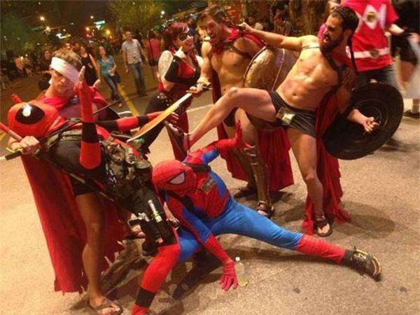 Khi các siêu anh hùng bị khống chế.(Ảnh: Internet)