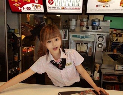 Nữ thần McDonald Wei Han Xu
