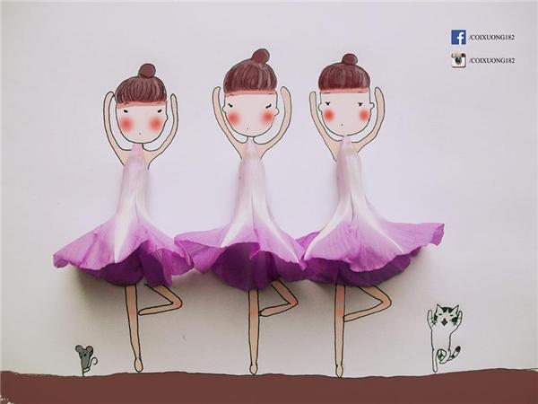 Những bức tranh cực kì sáng tạo và thú vị của Quang Huy nhận được rất nhiều sự yêu mến từ giới trẻ. (Ảnh: Internet).
