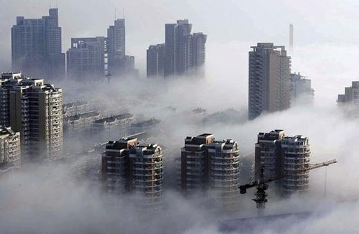 Sương mù bình thường (Ảnh: Internet)