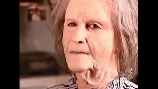 Cô gái 20 biến thành bà cụ 70 với công nghệ hóa trang siêu đỉnh