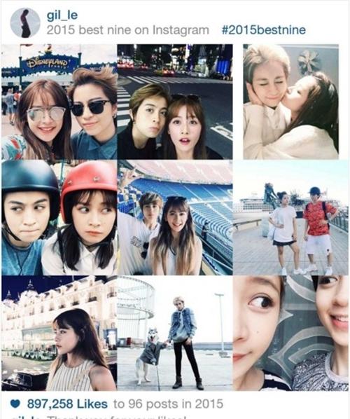 Những hình ảnh quá thân thiết trên instagram của Gil Lê khiến người hâm mộ hoài nghi về mối quan hệ của cặp đôi này. (Ảnh: Internet) - Tin sao Viet - Tin tuc sao Viet - Scandal sao Viet - Tin tuc cua Sao - Tin cua Sao