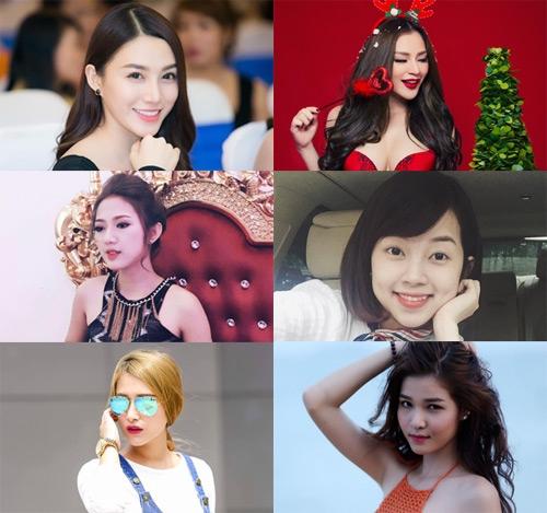"""6 """"bóng hồng"""" xinh đẹp từng đi qua cuộc đời chân sút Việt Kiều."""