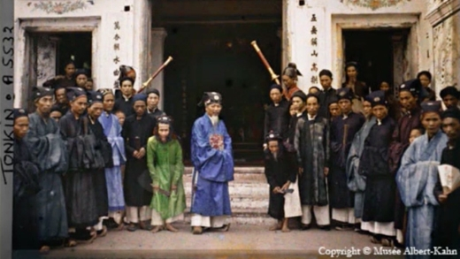 Việt Nam xưa qua tư liệu ảnh màu cực hiếm