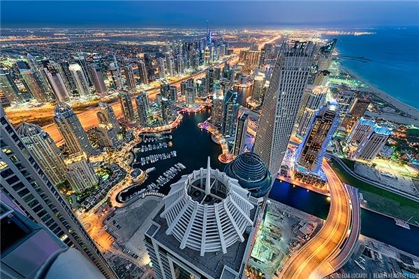 Hình ảnh thành phố Dubai đẹp như trong mơ. (Ảnh: Internet)