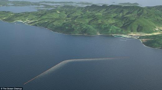 Hệ thống ống này sẽ cho phép cá cùng các sinh vật biển khác thoát ra khỏi đống rác dễ dàng. (Ảnh: Daily Mail)