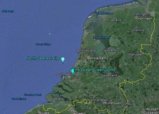 Hệ thống này sẽ được lắp đặt tại vùng Biển Bắc, cách bờ biển Hà Lan 23km, vào hè 2016. (Ảnh: Daily Mail)