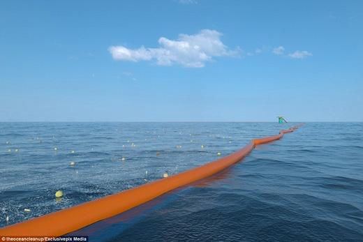 Đến năm 2020, người ta hy vọng sẽ xử líđược vấn đề ô nhiễm đại dương với kĩthuật này. (Ảnh: Daily Mail)