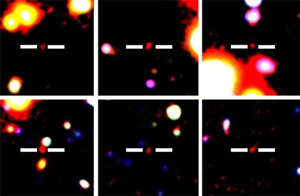 Các nhà nghiên cứu Mỹvừa mừng rỡ, vừa nhức đầu khiphát hiện một thiên hà mới cách Trái đất khoảng 13 tỉnăm ánh sáng. Đây là một trong 10 thiên hà xa và lớn nhất mà con người phát hiện được. Tuy nhiên, tất cả những kiến thức, thông tin về thiên hà này gần như bằng không. Ảnh: Internet