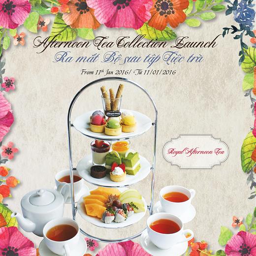 Afternoon Tea – Tiệc trà quý tộc tại Häagen-Dazs
