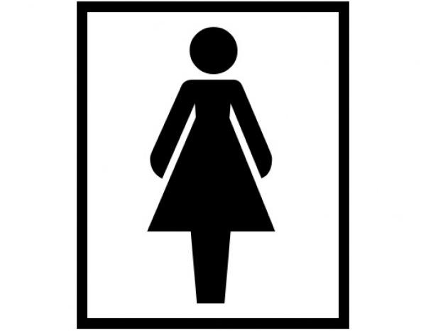 Biểu tượng này vốn dĩ không phải là chiếc váy? (Ảnh: Internet)
