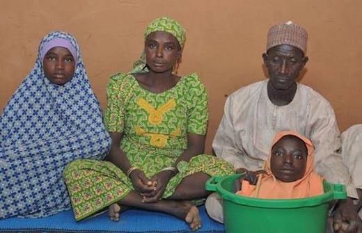 Rahma cùng gia đình(Ảnh: Internet)