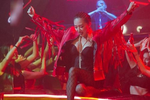 Tóc Tiên là một trong những ca sĩ lựa chọn dòng nhạc sôi động này - Tin sao Viet - Tin tuc sao Viet - Scandal sao Viet - Tin tuc cua Sao - Tin cua Sao